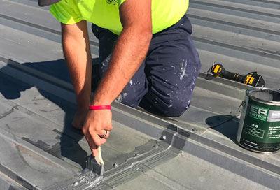 Repairing A Seal On Your Commercial Roof